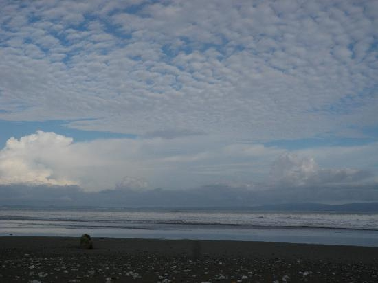 Blue Osa Yoga Retreat and Spa: Black sand beach!