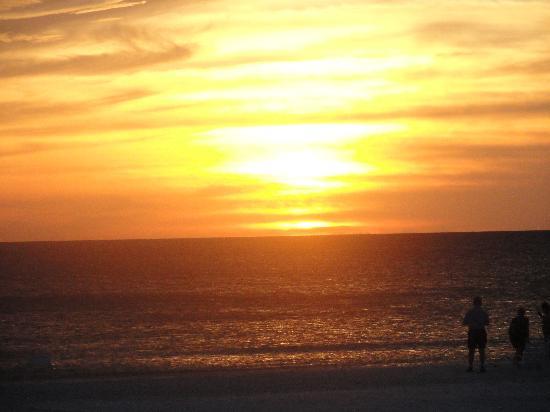 Crystal Sands : Sunset on beach