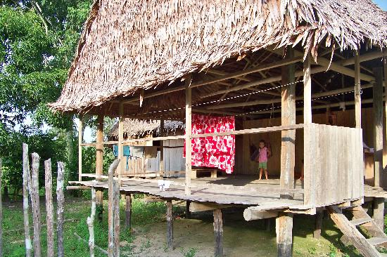 Amazonia Expeditions' Tahuayo Lodge: Chino village on Rio Tahuayo