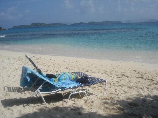 Crystal Cove Beach Resort on Sapphire Bay: The beach