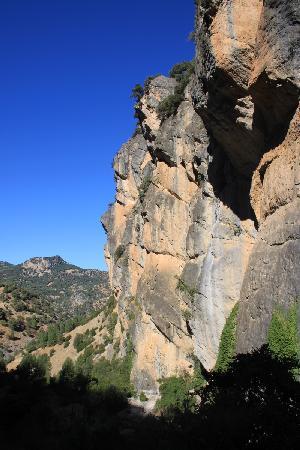 Parque Natural Sierra de Cazorla: Cl.iffs