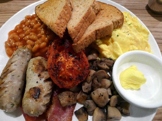 18 Grams: Nice Australian Breakfast - pretty good!