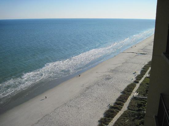 Anderson Ocean Club and Spa, Oceana Resorts: Looking south from the 21st floor