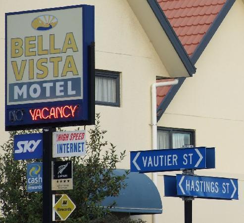 Bella Vista Motel: Our Address
