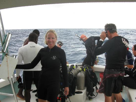 Diving with Ocean Fox Cotton Bay