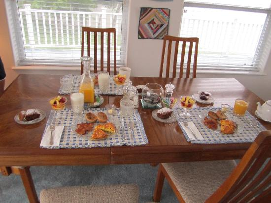 RiverView B&B Inn: Breakfast