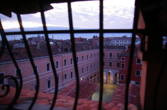 Pensione Guerrato: View from the attic room
