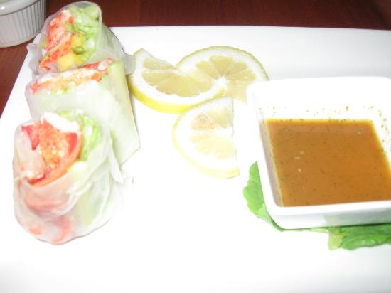One Dock Prime: Lobster spring rolls