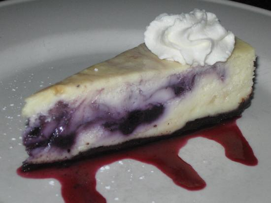 One Dock Prime: Blueberry cheesecake