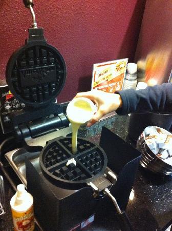 AmericInn Hotel & Suites Salina: Hmmm Waffles