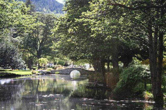 Queenstown Garden: bridge