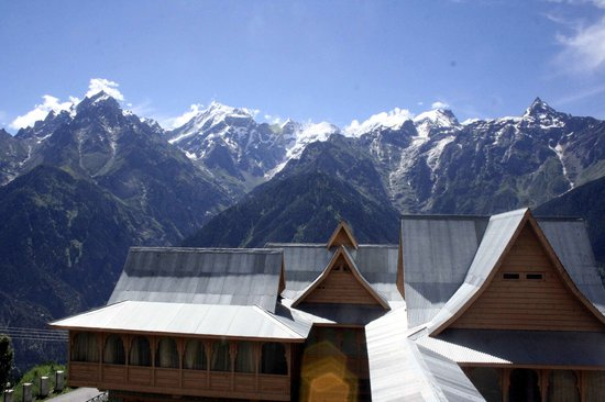 Kinnaur District, Hindistan: Kinnaur Kailas from Kalpa