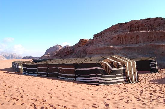 Another view of Bedouin House Camp