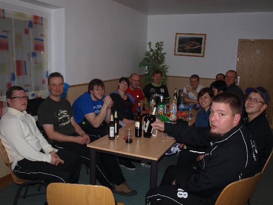 Sportpark Rabenberg: VCK2010e.V. - Bei der Auswertung am Abend