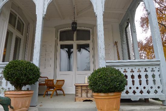 Hotel Villa Barleben am See : Terasse Süden