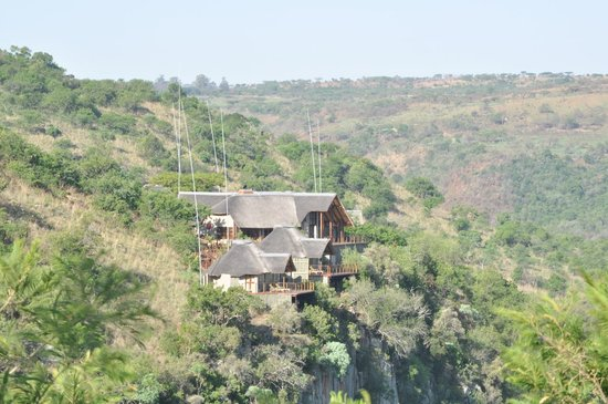 Esiweni Luxury Safari Lodge: Stunning location