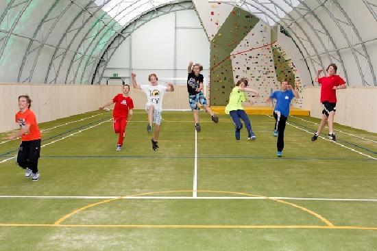 Erlebnisgastehaus Carinth: Die Sporthalle