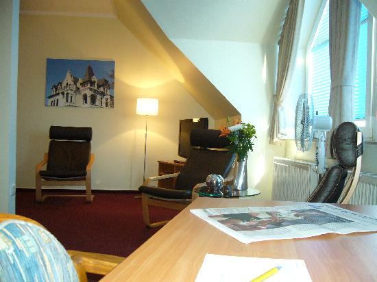 Hermes Hotel Oldenburg: Suite