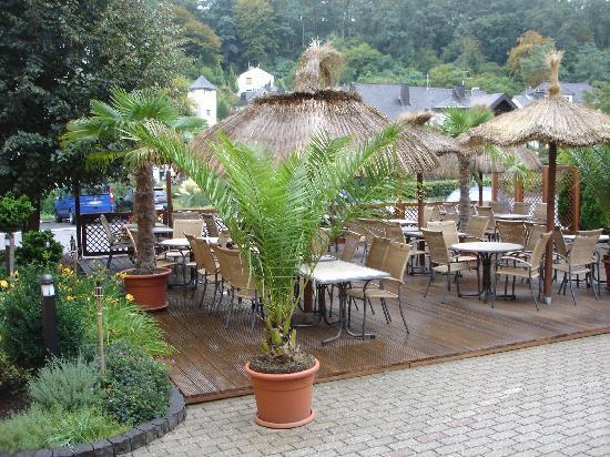 Mosel Hotel Haehn : Außenterrasse