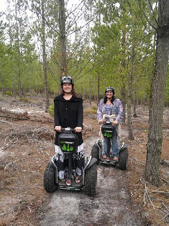 """ECO-Discovery: The """"track"""" was easy, safe and fun!  I was barefoot and it was comfortable."""