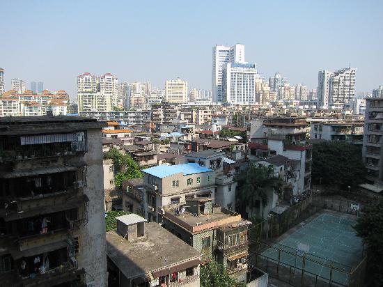 Siyecao Jinsheng Apartment Hotel: Vue depuis la chambre