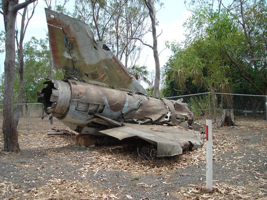 Australian Aviation Heritage Centre: Wreckage of Mirage 111D