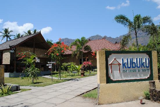Kubuku Ecolodge and Resto: Entrance