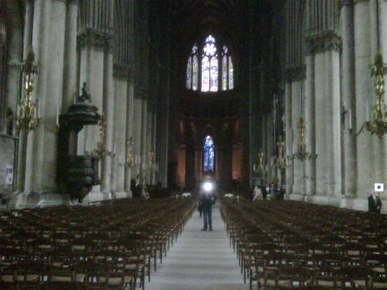 Logis Auberge de l'Omois : cathédrale de Reims