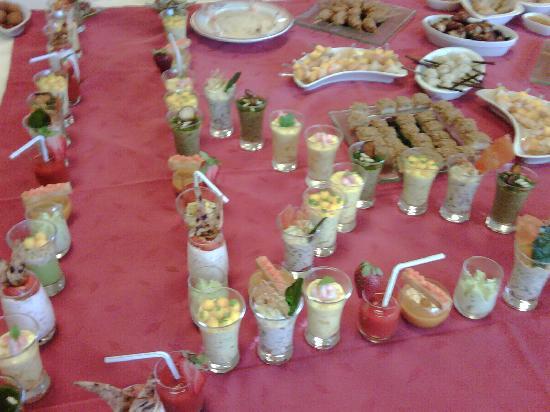 Logis Auberge de l'Omois : buffet