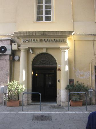"""Entrée de l""""hôtel Due Colonne"""