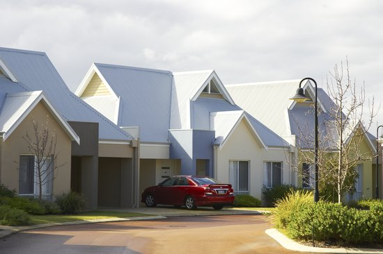 Forte Cape View Apartments: Village setting