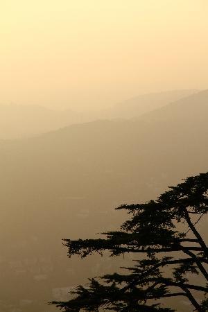 Funicolare Como-Brunate: Sunset from Brunato