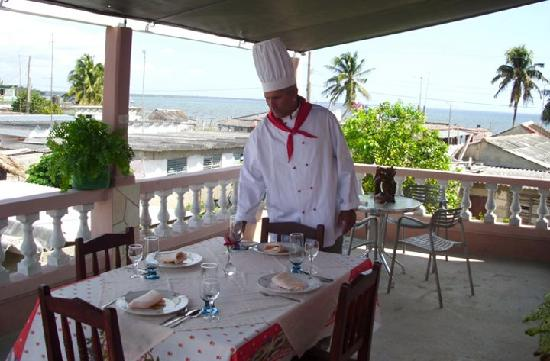 Playa Larga, Kuba: Mayito the cook