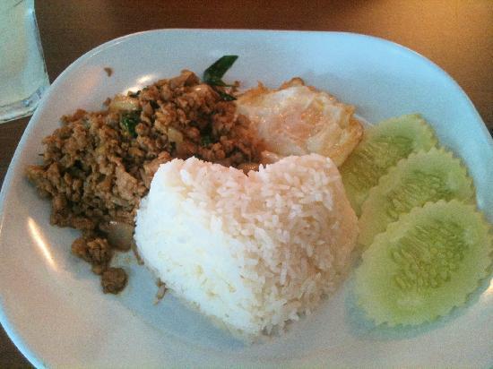 I'm Spicy: Stir Fried Basil Pork with Rice