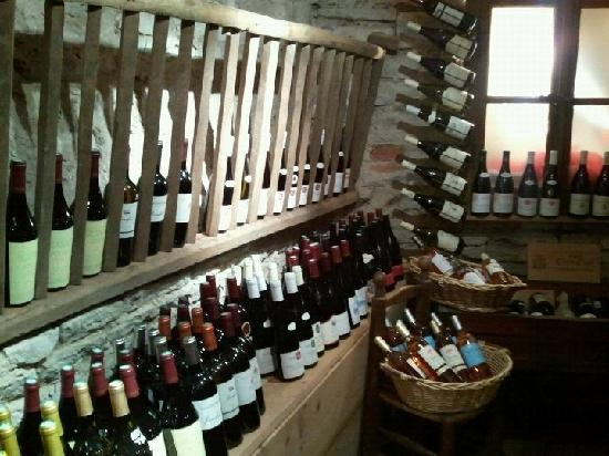 L'Affineur Comtois : Cellar (small part of it)