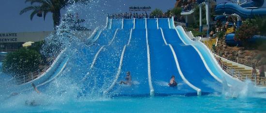 Slide & Splash - Water Slide Park: Kids race