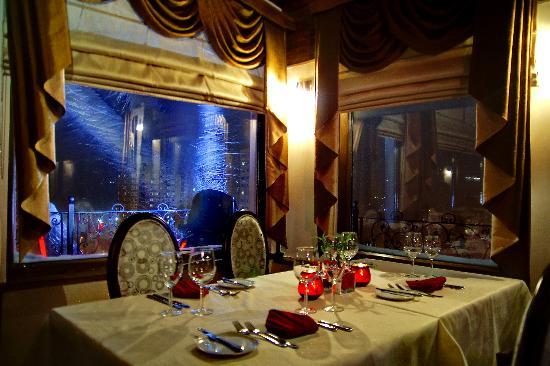 Hotel Monec: Restoran
