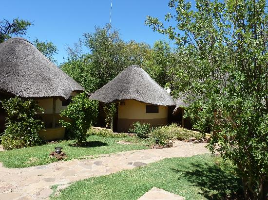 Kwena Chalets - Sun City: View of our chalet (Nile)
