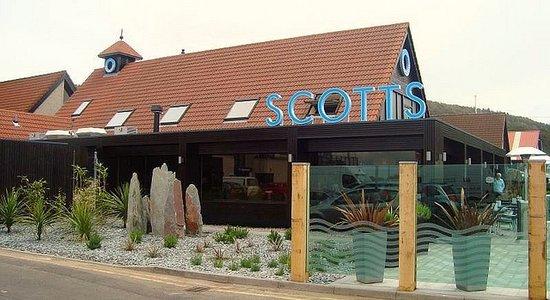 Scotts at Largs: Scotts  Resturant Largs Yacht Marina .