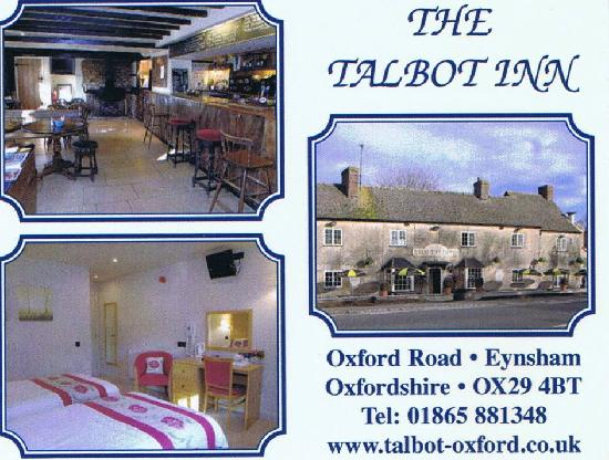 The Talbot Inn: Front of there card