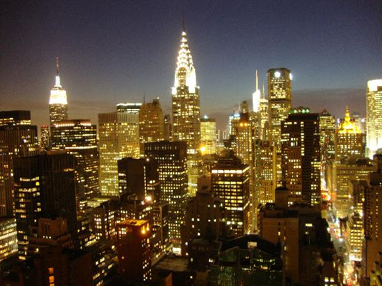 ONE UN New York : view from my hotel room