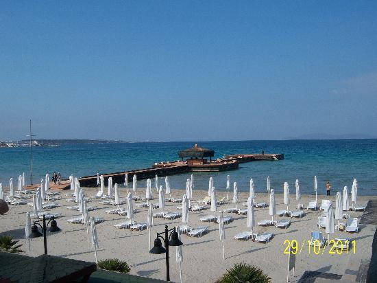 Sheraton Cesme Hotel Resort & Spa: Strand