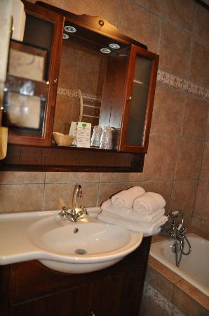 Hotel Restaurant Les Cedres : bagno