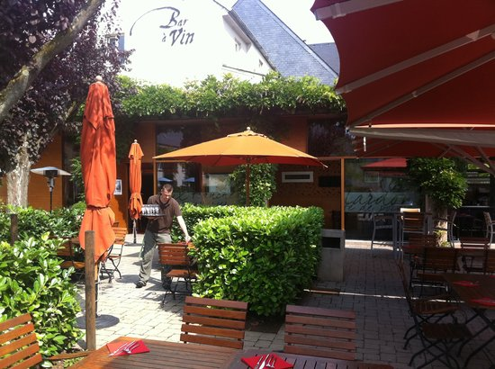 Le Bistrot Gourmand : Terrasse
