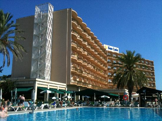 PortBlue San Luis: View from the pool area