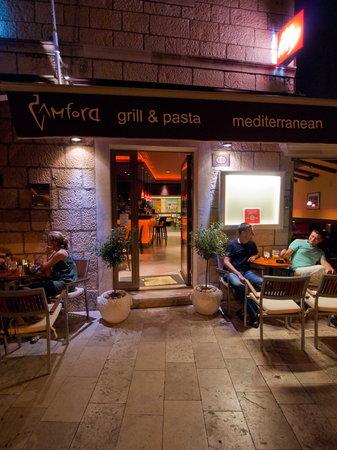 Main Entrance - Restaurant Amfora