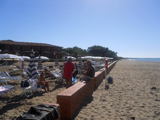 Fonteblanda, Italien: particolare della spiaggia