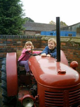 Sandbach, UK: Tractor