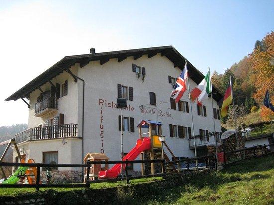 Rifugio Monte Baldo: Il rifugio