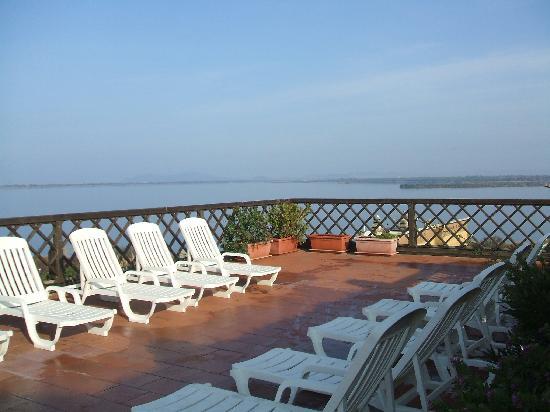 Park Hotel Residence: Vista panoramica dal terrazzo